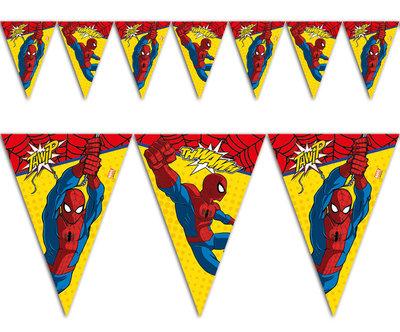 Spiderman feestslinger of vlaggenlijn Comic