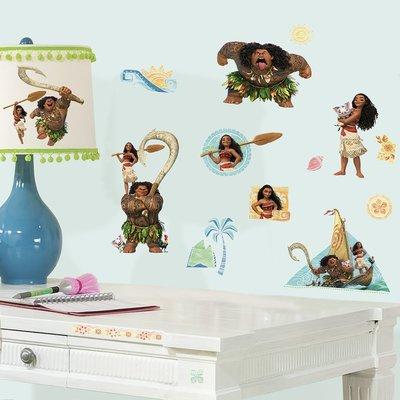 Disney Vaiana wanddecoratie 25-delig