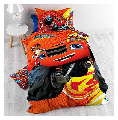 Blaze en de Monsterwielen dekbedovertrek High Tire