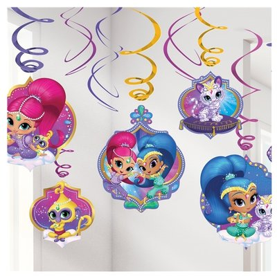 Shimmer and Shine plafond decoratie