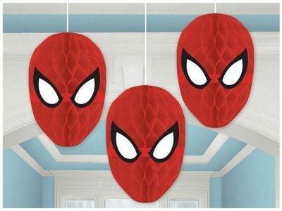 Spiderman honeycomb 3 delig set