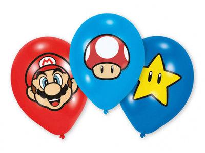 Super Mario feest ballonnen met Toad