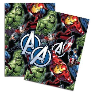 The Avengers cadeaupapier met kaartjes