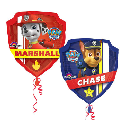 Paw Patrol mini shape folie ballon
