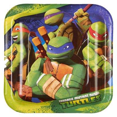 Teenage Mutant Ninja Turtles gebaksbordjes