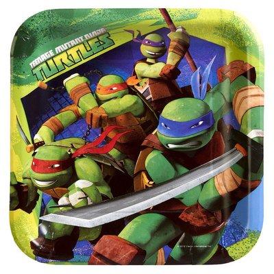 Teenage Mutant Ninja Turtles party bordjes