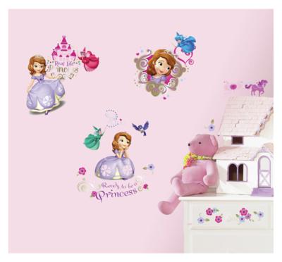 Sofia het Prinsesje wanddecoratie 37-delig