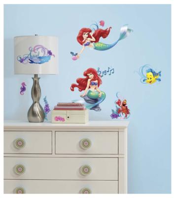 Disney Princess Ariel wanddecoratie 43-delig