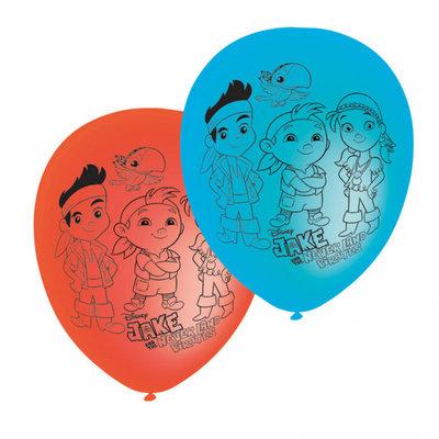 Disney Jake en de nooitgedachtland piraten ballonnen II