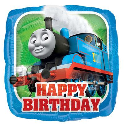 Thomas de Trein folie ballon Happy Birthday II