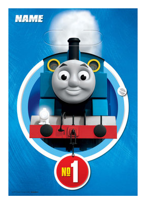 Thomas de Trein uitdeelzakjes NO1