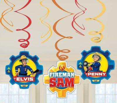 Brandweerman Sam plafond decoratie