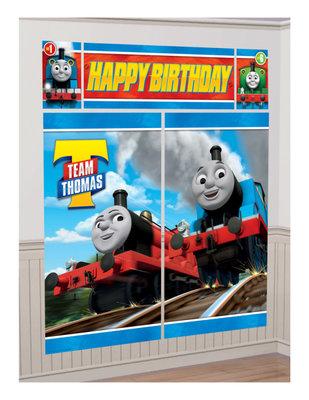 Thomas de Trein XXL verjaardagsbanner Team