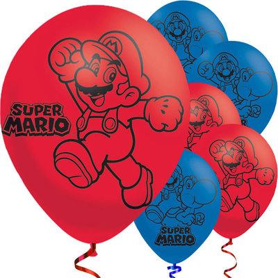 Super Mario feest ballonnen