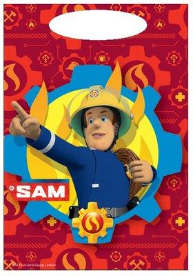 Brandweerman Sam uitdeelzakjes Flame