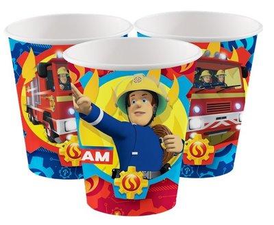 Brandweerman Sam party bekers Flame