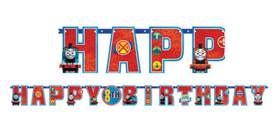 Thomas de Trein happy birthday slinger Friends
