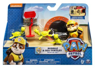 Paw Patrol speelfiguur set Rubble