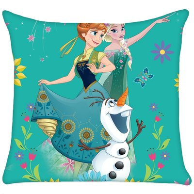 Disney Frozen Fever kussen met Elsa Anna en Olaf