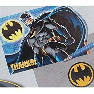 Batman bedank kaarten met envelop