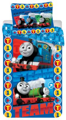 Thomas de Trein dekbedovertrek Steam Team