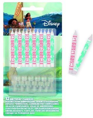 Disney Vaiana verjaardagstaart kaarsjes