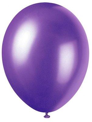 Ballonnen 30 centimeter unikleur paars