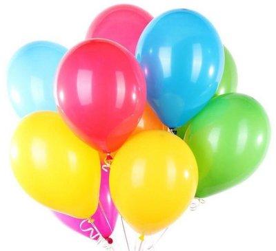 Ballonnen 23 centimeter gemengde kleuren