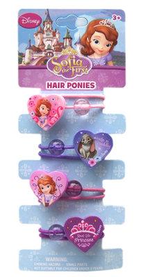 Sofia het Prinsesje haarknockers - elastiekjes