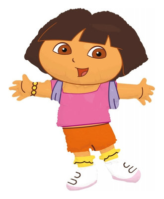 Dora Explorer folie ballon Super Shape