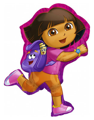 Dora Explorer folie ballon Super Shape II