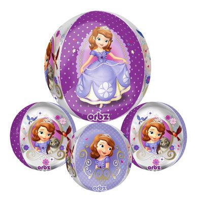 Sofia het Prinsesje folie ballon rond