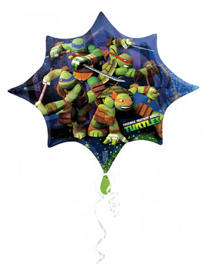 Teenage Mutant Ninja Turtles folie ballon Super Shape