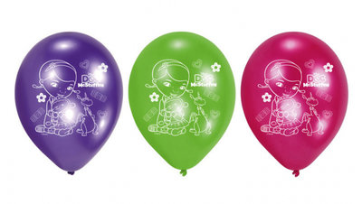 De Speelgoed Dokter feest ballonnen Tricolor