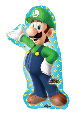 Super Mario folie ballon Luigi shape