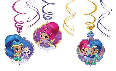Shimmer and Shine draaislingers