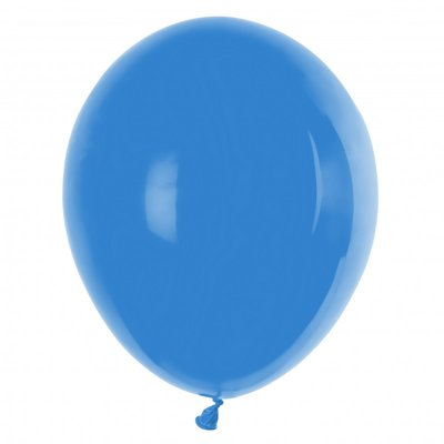 Ballonnen 30 centimeter unikleur blauw