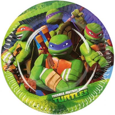 Teenage Mutant Ninja Turtles gebaksbordjes II