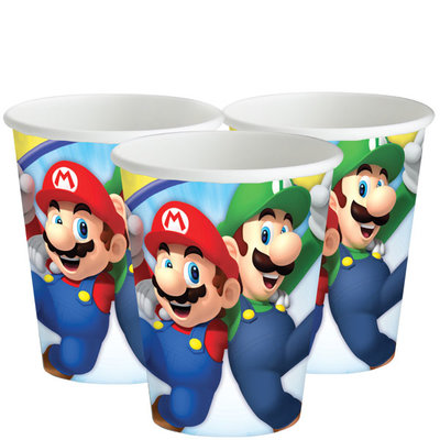 Super Mario party bekers