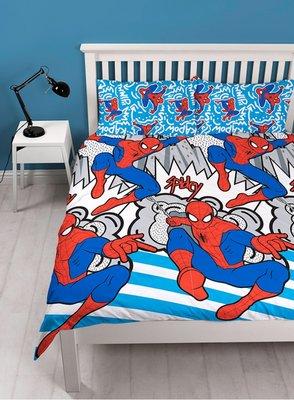 Spiderman 2 persoons dekbedovertrek 200 x 200cm