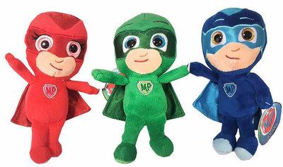 PJ Masks pluche knuffels per set van 3 stuks