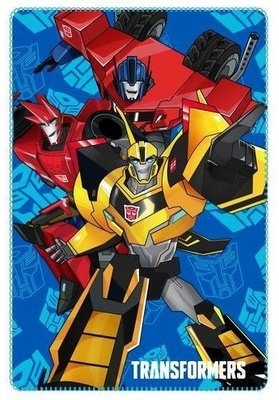 Transformers fleece deken 100x150cm