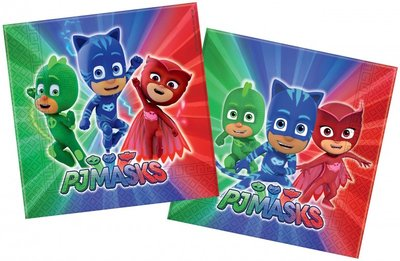 PJ Masks servetten