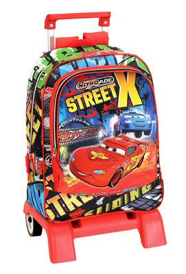 Cars rugzak - trolley street X