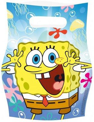 Spongebob uitdeelzakjes