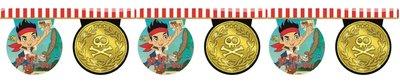 Disney Jake en de Nooitgedachtland piraten vlaggenlijn