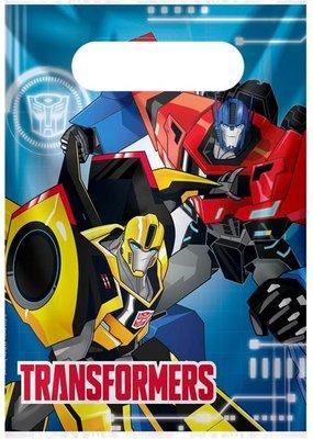 Transformers uitdeelzakjes
