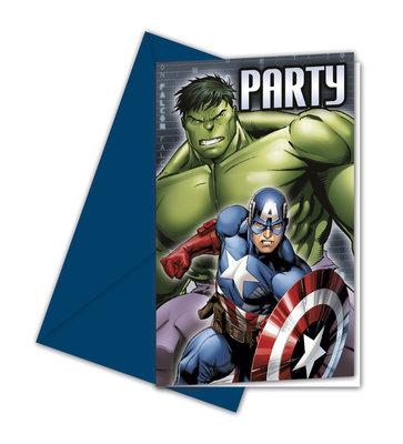 The Avengers uitnodigingen