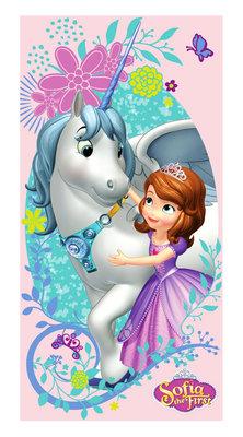 Sofia het Prinsesje badlaken - strandlaken Unicorn