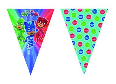 PJ Masks vlaggenlijn feestslinger of slinger